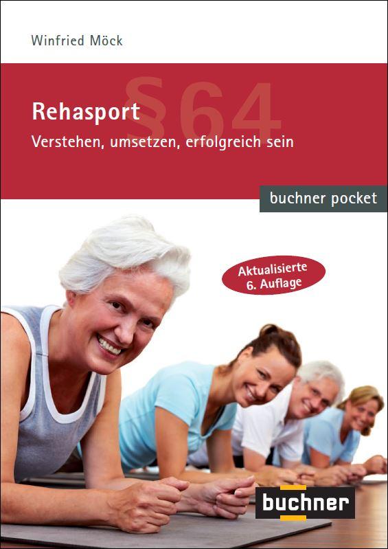 Buchcover Rehasport Pocketbuch 2018 Auflage 6 von Winfried Möck