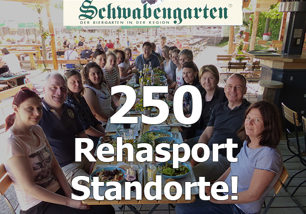 250 Rehasport Standorte - Gruppenbild Gesundheitszentrum Servicezentrale Feier 2018