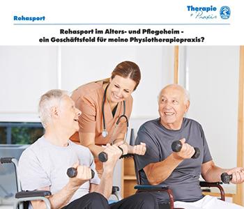 Rehasport im Alter- und Pflegeheim - ein Artikel von Winfried Möck in der Ausgabe des VDB