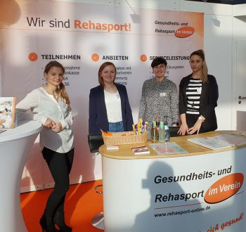 Rückblick Messe TheraPro 2019 Team Rehasport