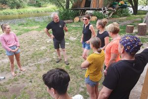 Teambuilding im Adventurecamp