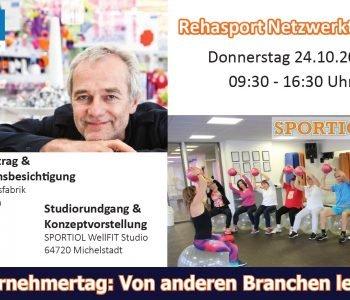 Rehasport-Netzwerktreffen im Odenwald bei Stephan Koziol