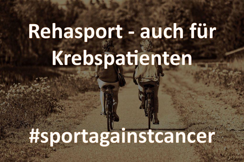 Rehasport mit der Indikation Krebs - sportagainstcancer