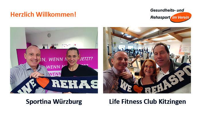 Neue Rehasport Standorte in Würzburg und Kitzingen - Beitragsbild Rehasport Bericht mit Winfried Möck
