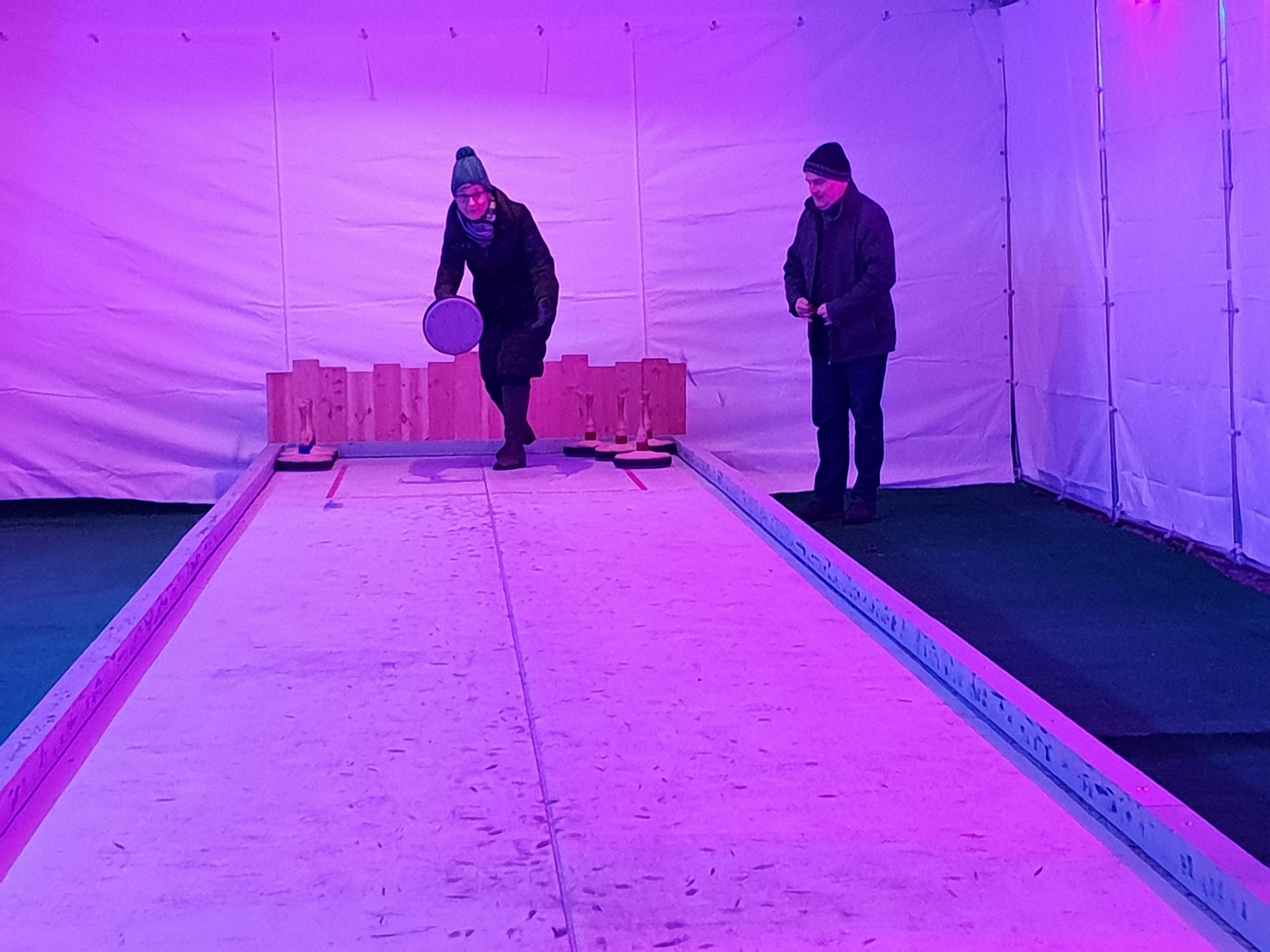 Team Loquenz - Gemeinsam erfolgreich, auch beim Eisstockschießen