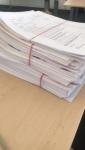 Team Abrechnung - Noch mehr Papier