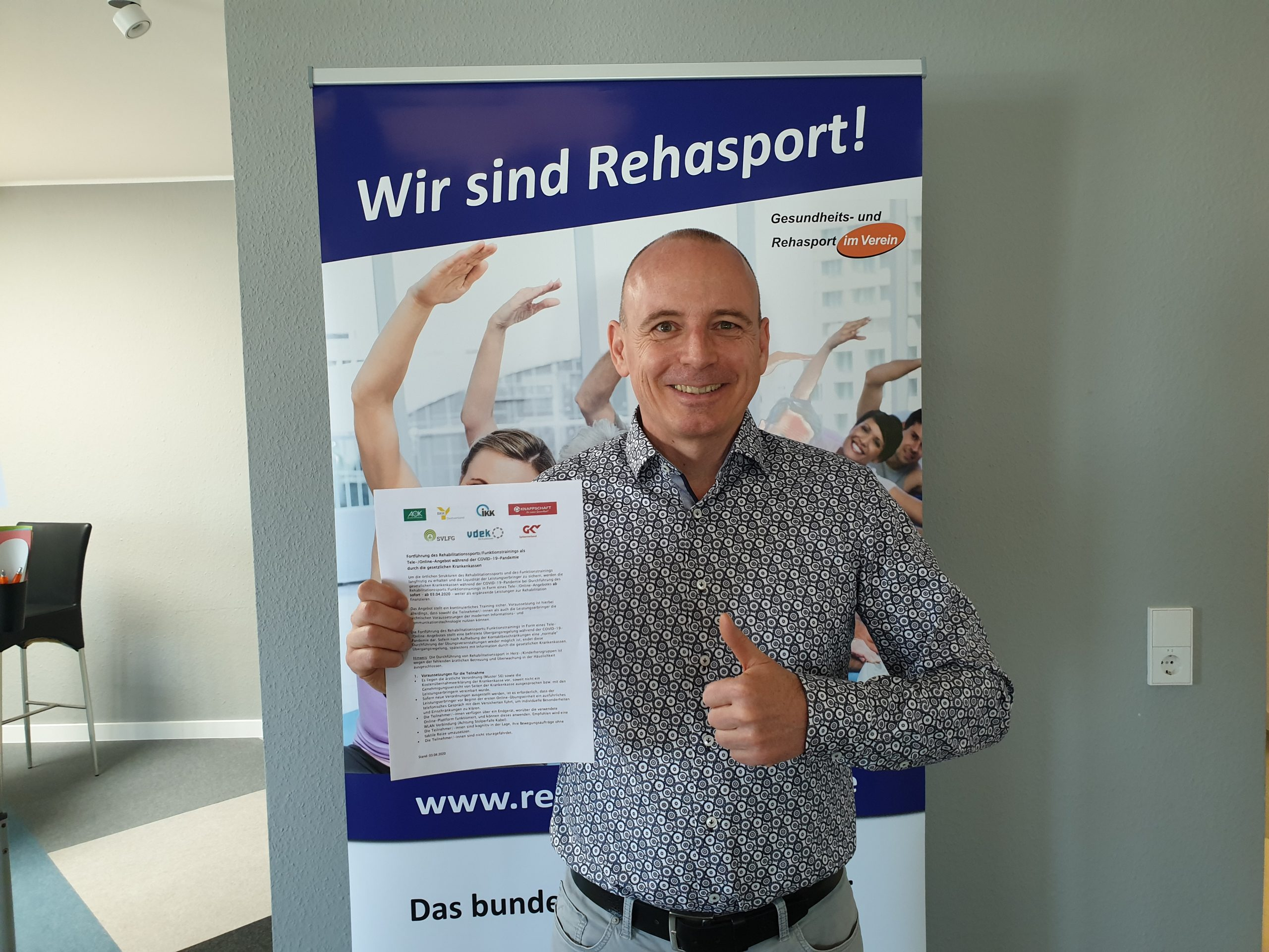 Winfried Möck mit
