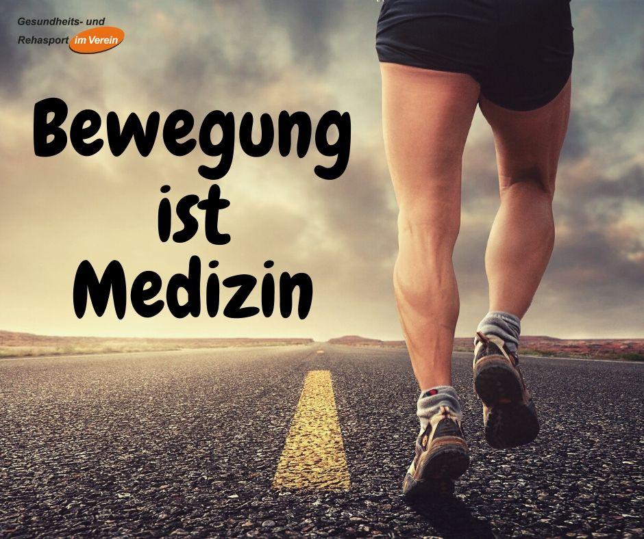 Bewegung ist Medizin - Beitrag zum Spiegelartikel 25/2020