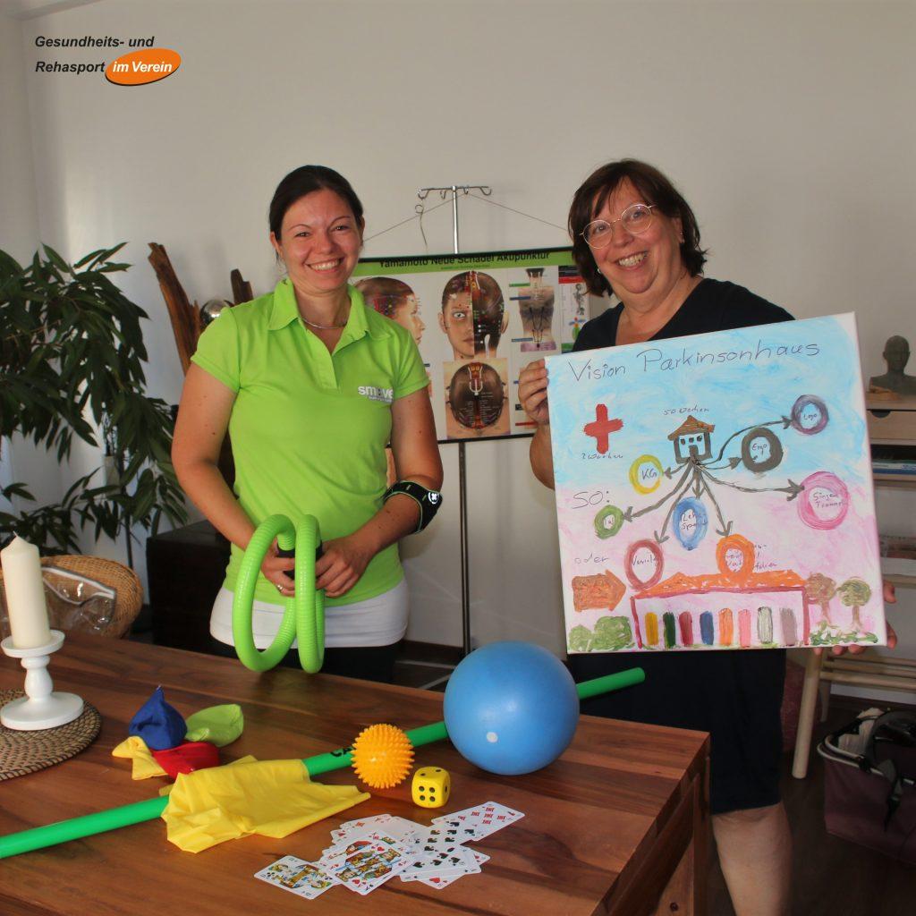 Rehasport bei Parkinson in Schömberg mit Anna Krüger