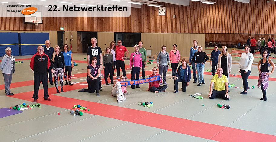Netzwerktreffen in NRW - Sportschule Hennef