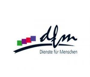 Rehasport Anbieter Pflegestift Rosengarten-Vohenstein am Standort 74538 Rosengarten - Logo dfm