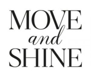 Rehasport Anbieter am Standort Balingen - Move and Shine - Logo