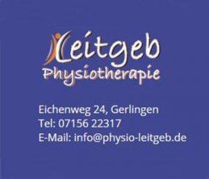 Rehasport Anbieter in 70499 Stuttgart Gerlingen - Logo Leitgeb Physiotherapie