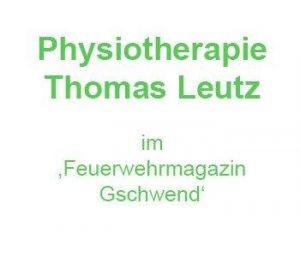 Rehasport Gschwend Physiotherapie Thomas Leutz im 'Feuerwehrmagazin Gschwend'