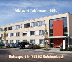 Rehasport am Standort in 73262 - Angebot unter Herr Niepel im Albrecht Teichmann-Stift