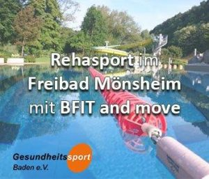 Rehasport im Wasser am Standort 71297 Mönsheim hier Freibad