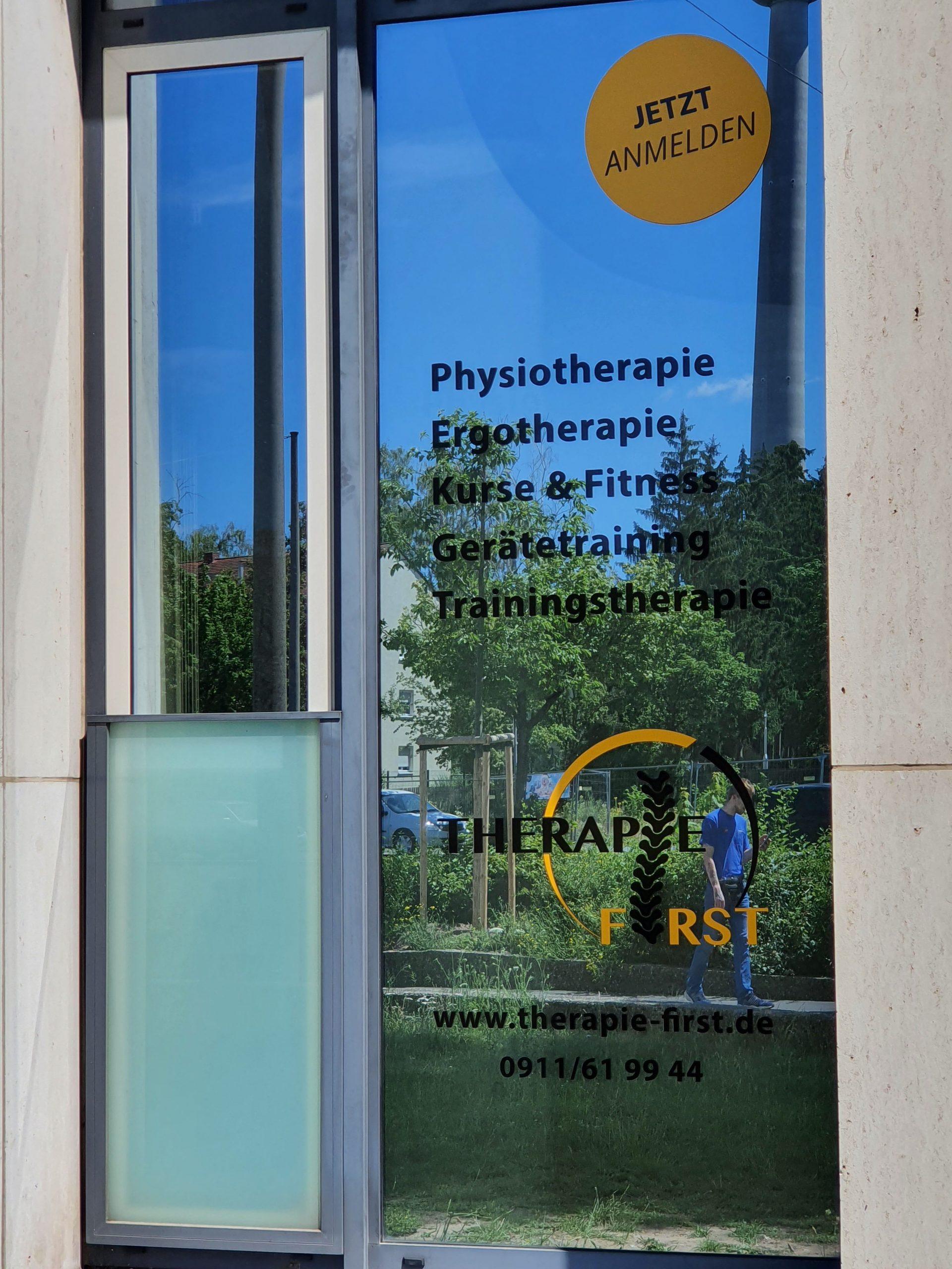 Standort - Therapie First