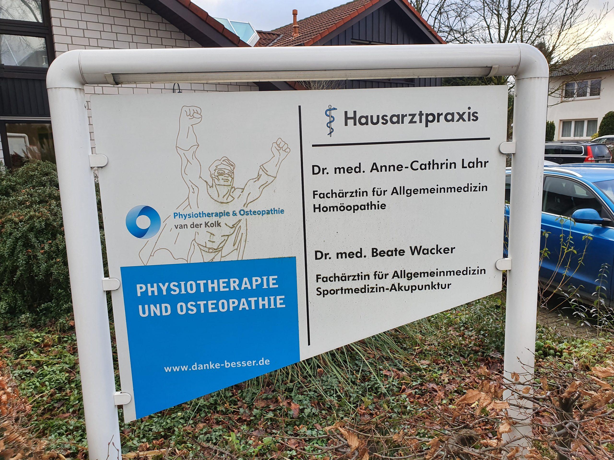 Standort - Lienen - Physiotherapie & Osteopathie van der Kolk