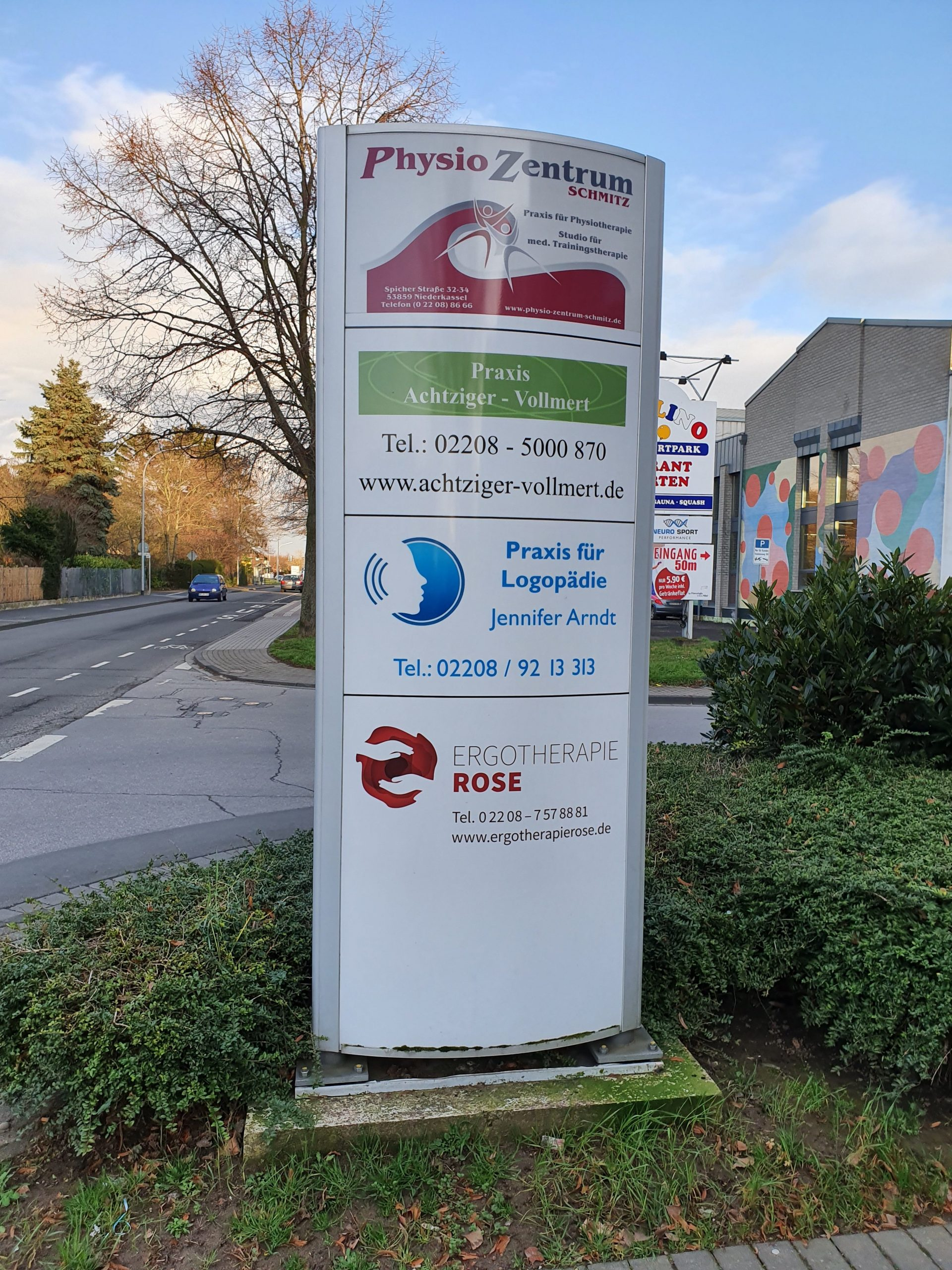 Standort - Niederkassel - Physiozentrum Schmitz