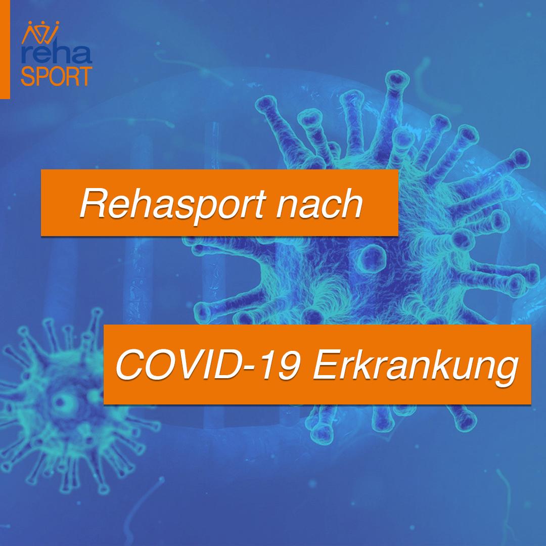 COVID-19-Erkrankung - Rehasport nach Corona