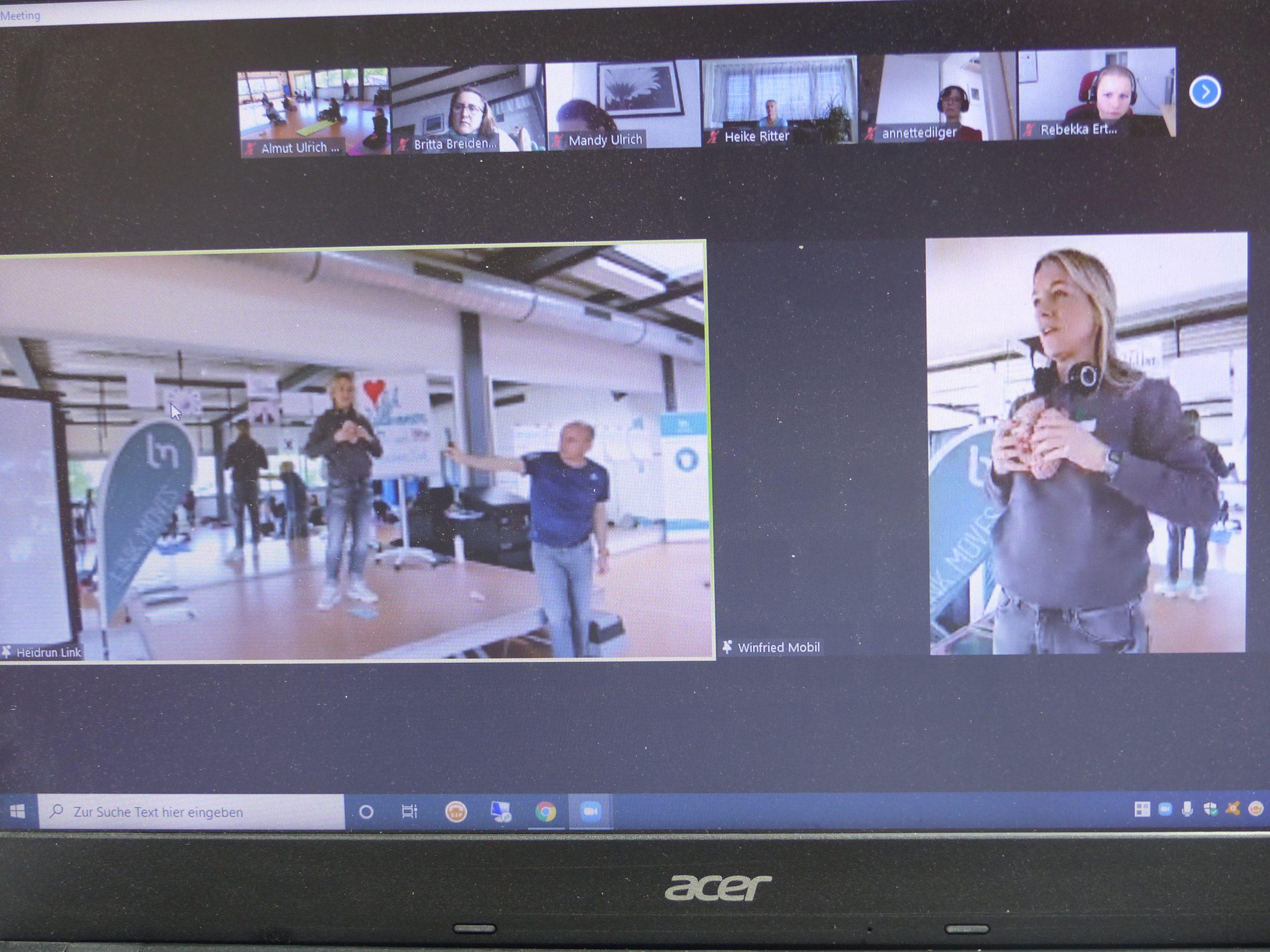 Netzwerktreffen als Hybrid-Veranstaltung