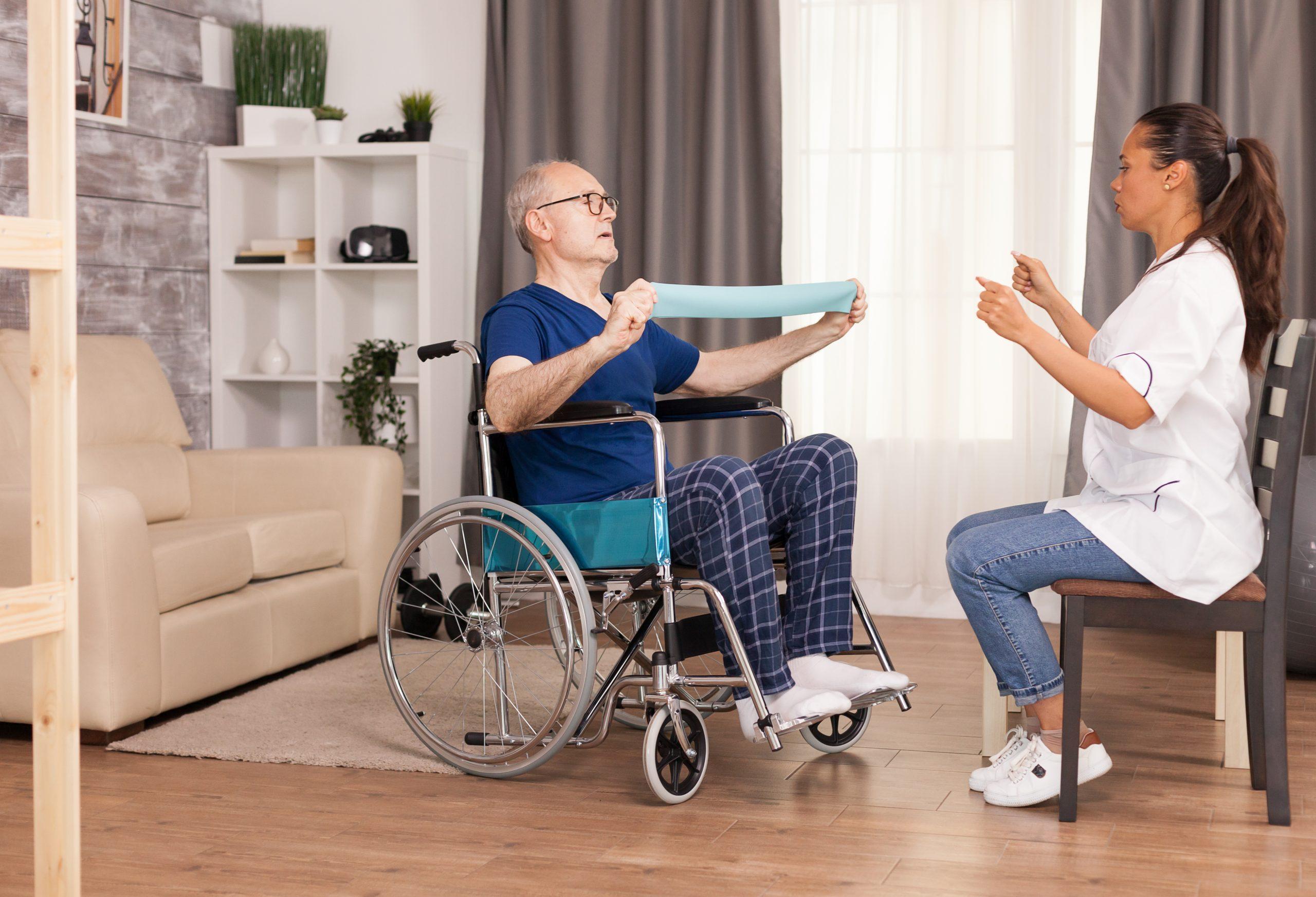 Rehasport im Alten- und Pflegeheim
